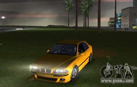 BMW M5 E39 for GTA Vice City right view