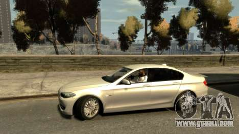 BMW 525 F10 for GTA 4