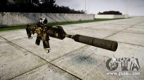 Machine P416 ACOG silencer PJ2 for GTA 4