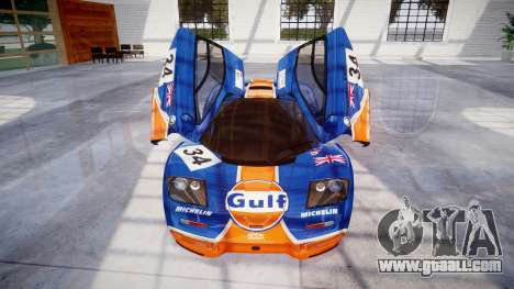 McLaren F1 1993 [EPM] Gulf 34 for GTA 4 bottom view