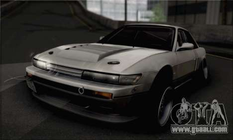 Nissan Silvia S13 Slammed for GTA San Andreas