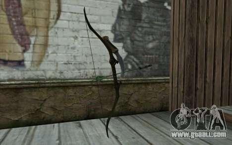 Green Arrow Bow v1 for GTA San Andreas second screenshot