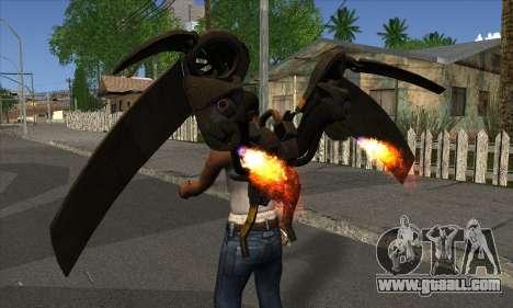 Jetpack from Batman Arkham Origins for GTA San Andreas