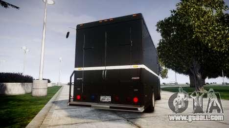 Brute Boxville N.O.O.S.E for GTA 4 back left view