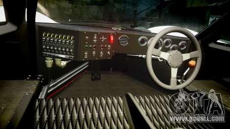 Ford GT40 Mark IV 1967 PJ Fernando Pedace 7 for GTA 4 back view