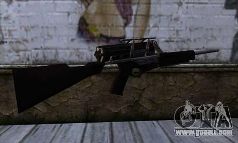 Calico M951S from Warface v1 for GTA San Andreas second screenshot
