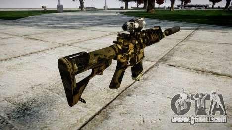 Machine P416 ACOG silencer PJ2 for GTA 4 second screenshot