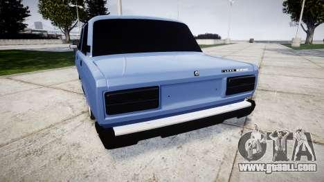 VAZ-2107, Lambo for GTA 4 back left view