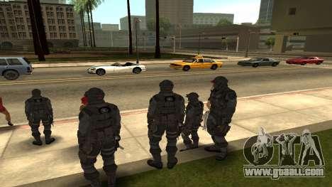Skin Third Echelon for GTA San Andreas second screenshot