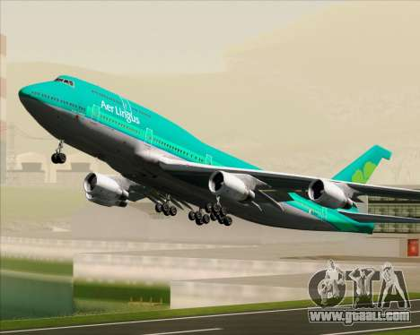 Boeing 747-400 Aer Lingus for GTA San Andreas
