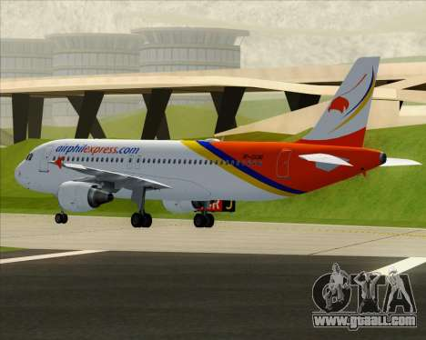 Airbus A320-200 Airphil Express for GTA San Andreas