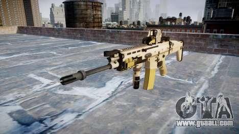 Machine FN SCAR-L Mk 16 icon2 for GTA 4