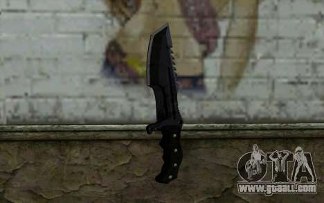 Knife from COD: Ghosts v2 for GTA San Andreas