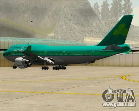Boeing 747-400 Aer Lingus for GTA San Andreas