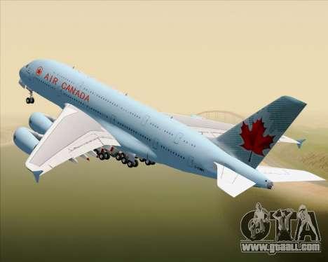 Airbus A380-800 Air Canada for GTA San Andreas