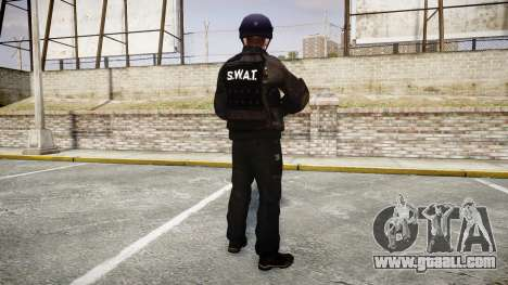 Uniforms assault groups with special. weapons for GTA 4 third screenshot