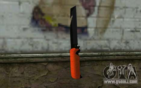 Knife from Battlefield 3 for GTA San Andreas second screenshot