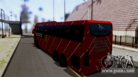 Volvo Gumarang Jaya for GTA San Andreas left view
