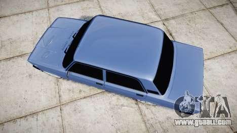 VAZ-2107, Lambo for GTA 4 right view