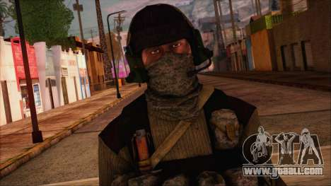 Recon from Battlefield 3 for GTA San Andreas third screenshot
