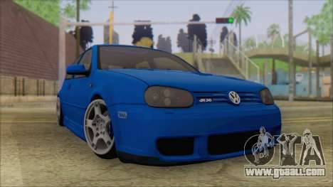 Volkswagen Golf 4 R36 for GTA San Andreas