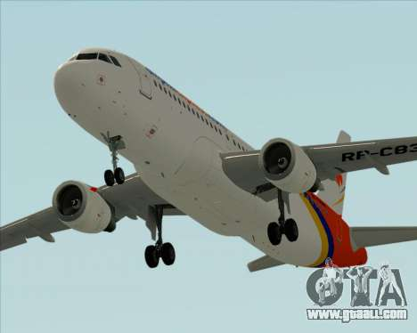 Airbus A320-200 Airphil Express for GTA San Andreas engine