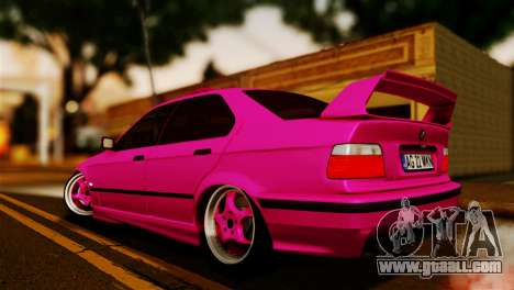 BMW M3 E36 - MKN for GTA San Andreas left view