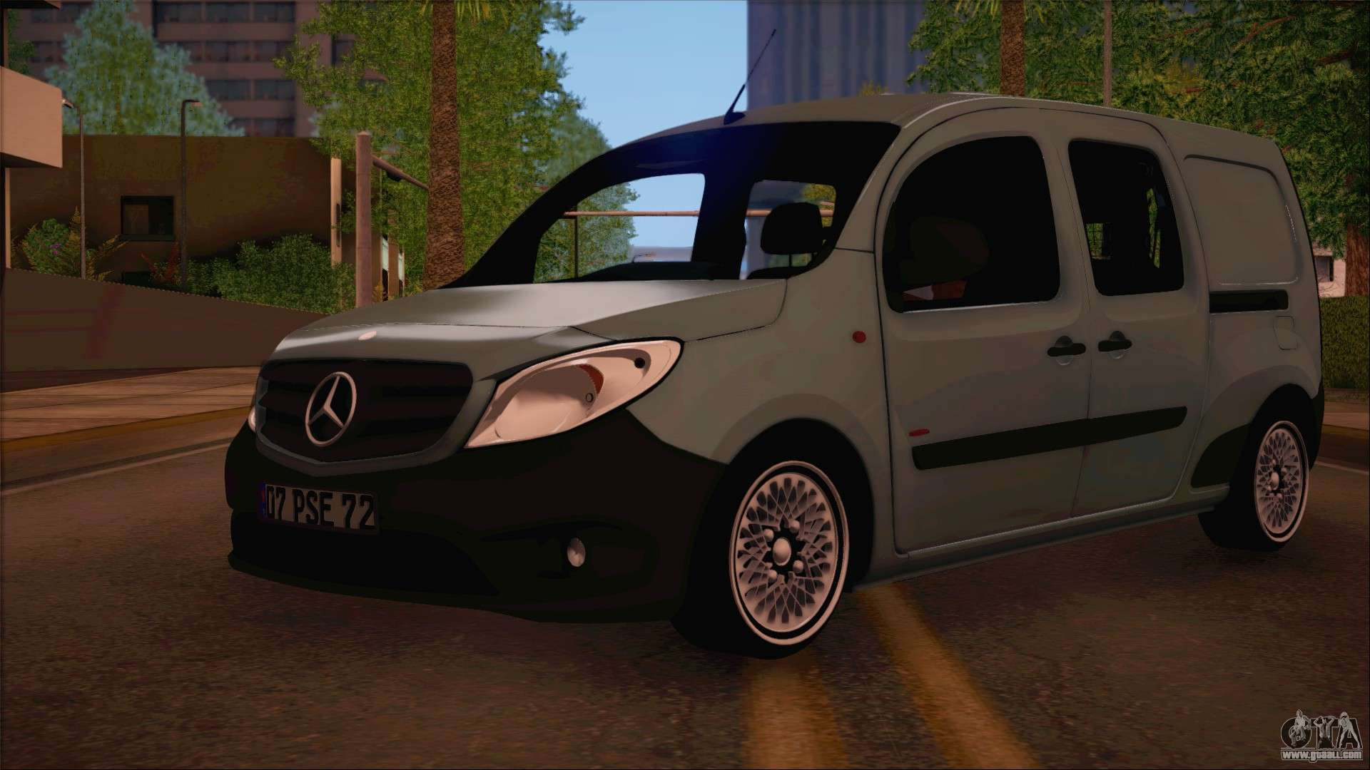 mercedes benz citan stock 2013 for gta san andreas. Black Bedroom Furniture Sets. Home Design Ideas