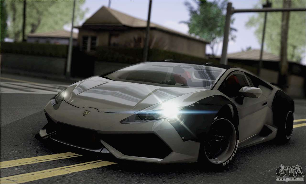 lamborghini huracan for gta san andreas. Black Bedroom Furniture Sets. Home Design Ideas