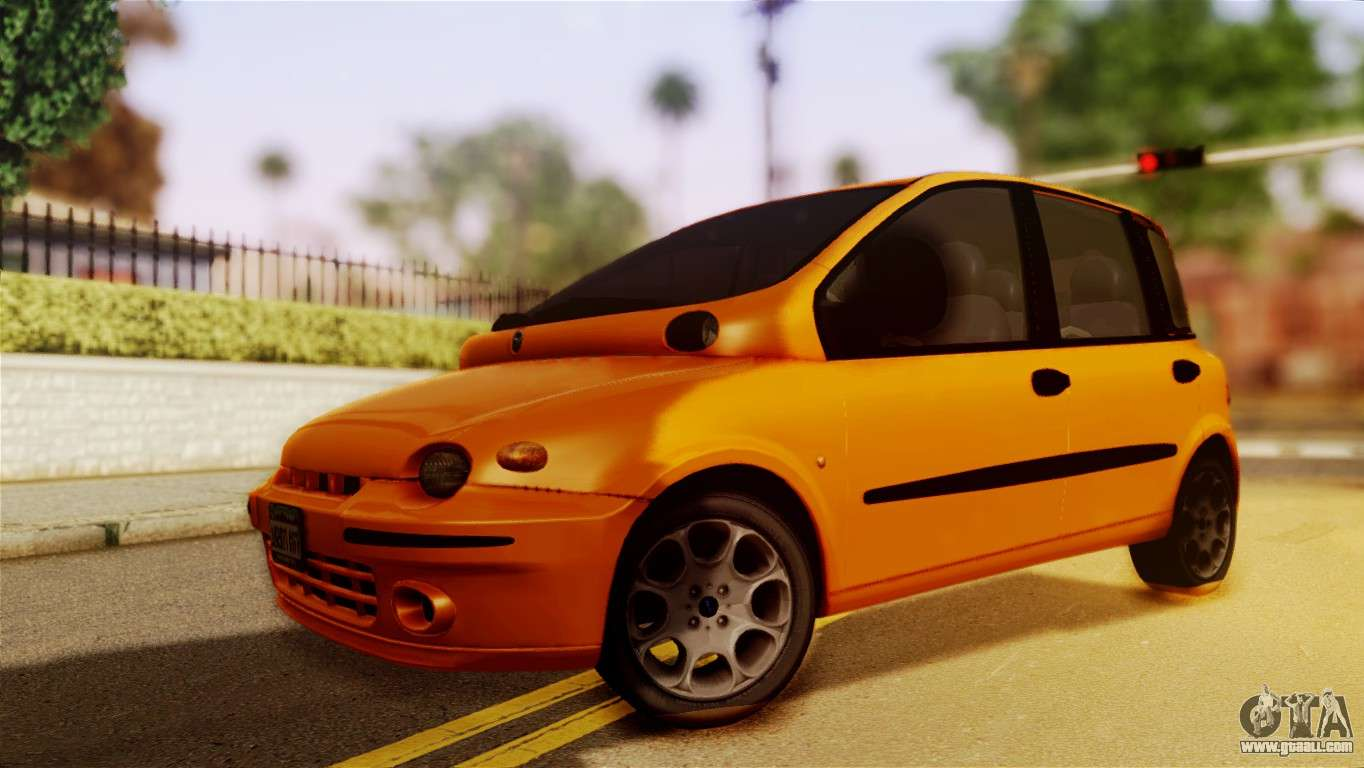 fiat multipla normal bumpers for gta san andreas. Black Bedroom Furniture Sets. Home Design Ideas