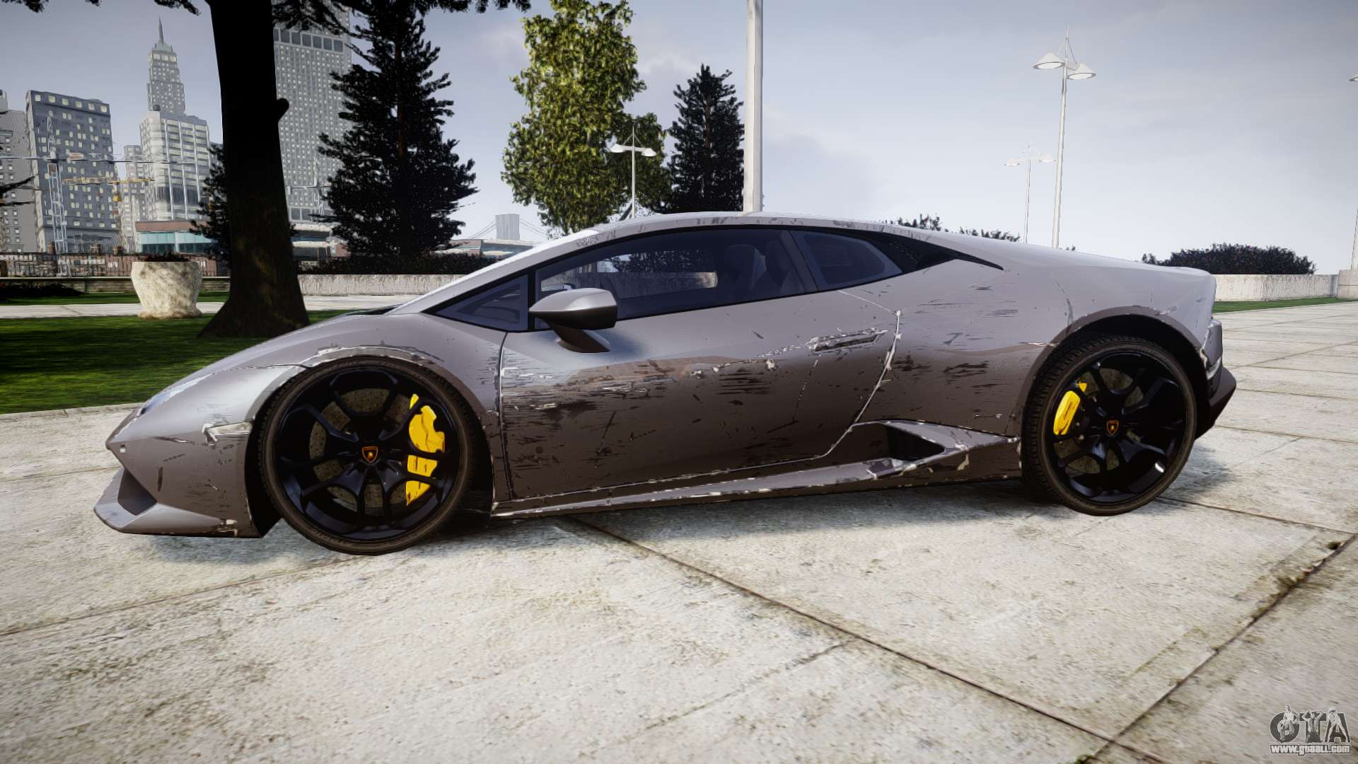 Lamborghini Huracan LP 610-4 2015 for GTA 4