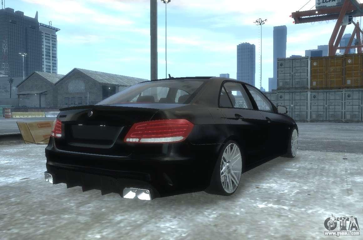 Mercedes benz e63 brabus 850 for gta 4 for Mercedes benz 850