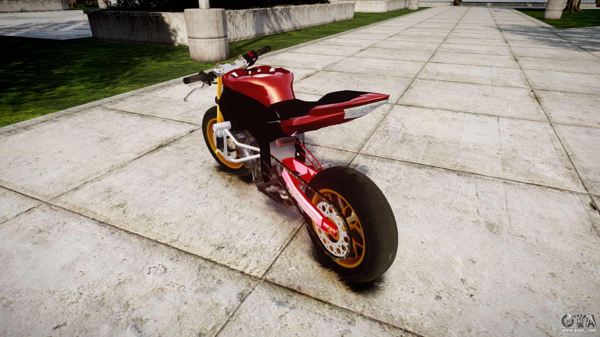 Yamaha YZF-R6 Stunt for GTA 4