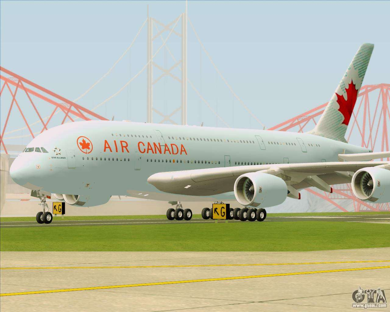 Airbus A380 800 Air Canada For Gta San Andreas