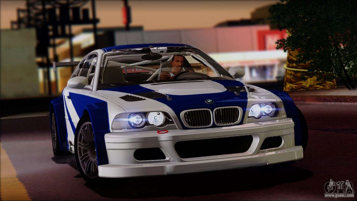 BMW M3 E46 GTR coupe for GTA San Andreas