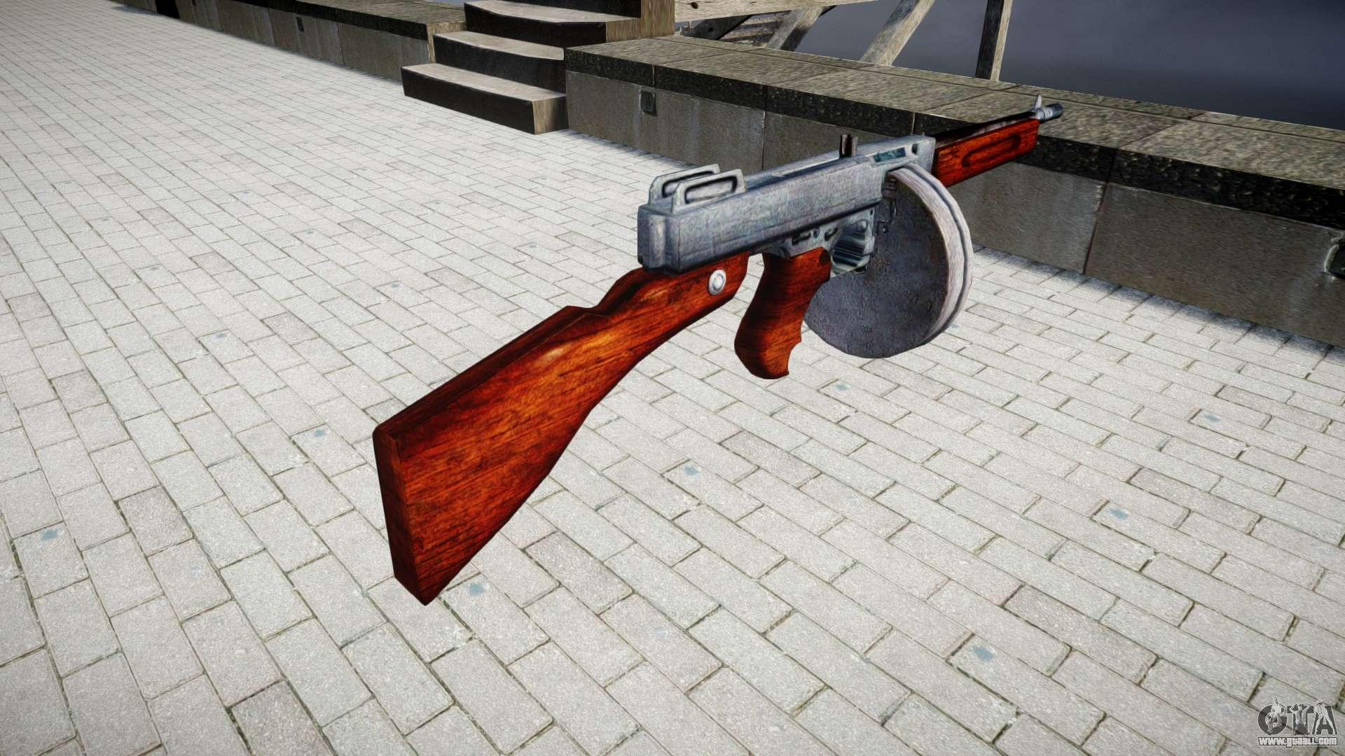 Submachine gun Thompson M1A1 drum icon3 for GTA 4