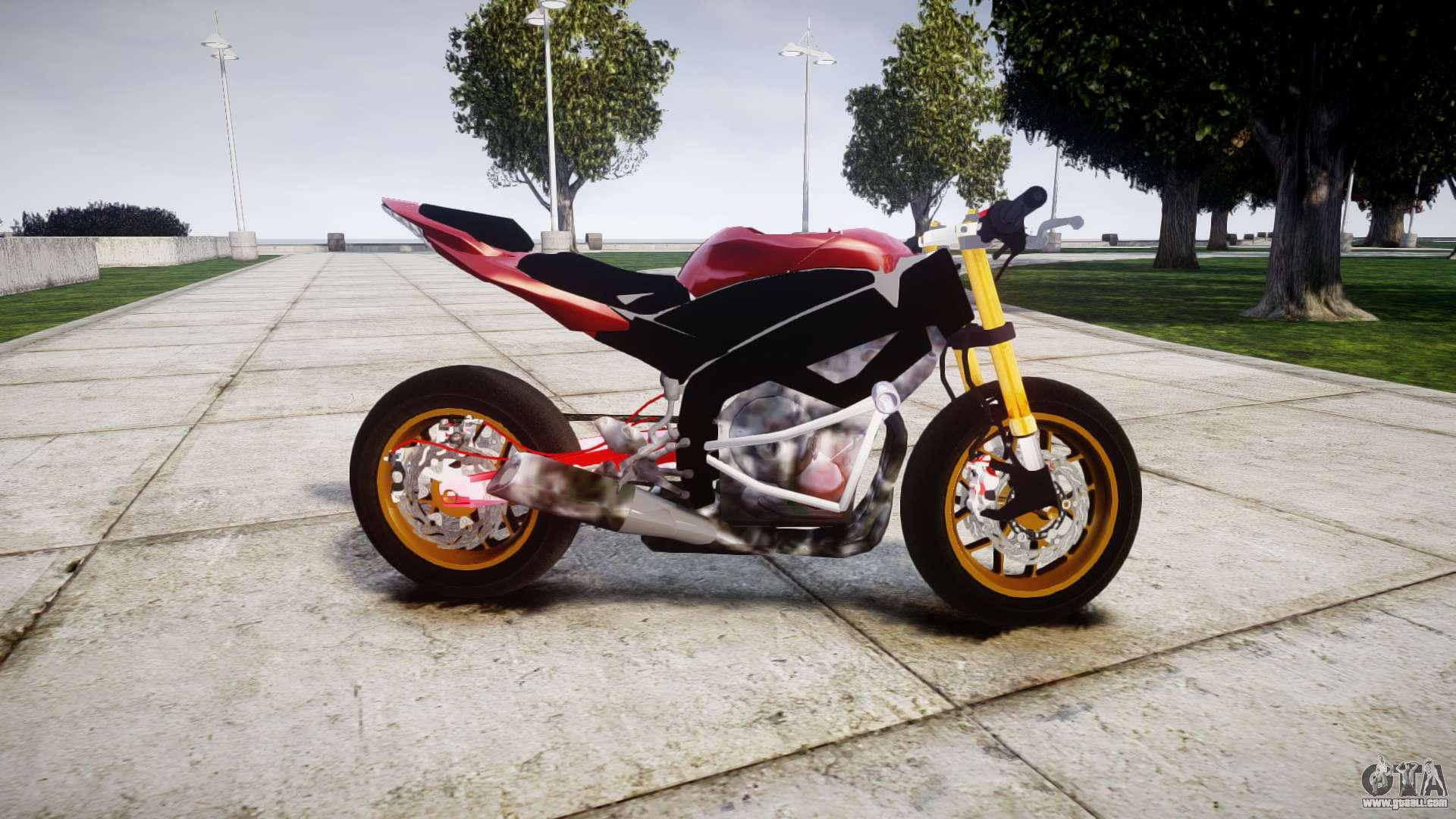 Yamaha R Stunt Bike