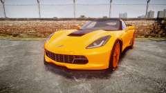 Chevrolet Corvette Z06 2015 TireBr1 for GTA 4