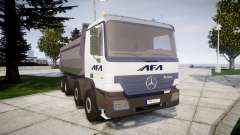 Mercedes-Benz Actros AFA for GTA 4