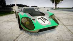 Ford GT40 Mark IV 1967 PJ Arnao Racing 74