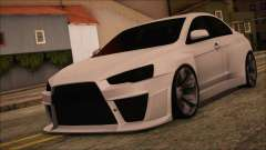 Mitsubishi Lancer Evolution X HD SHDru tuning v1 for GTA San Andreas