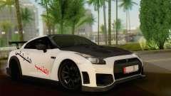 Nissan GT-R for GTA San Andreas
