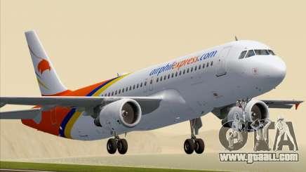 Airbus A320-200 Airphil Express for GTA San Andreas