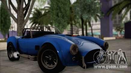 Shelby Cobra V10 TT Black Revel for GTA San Andreas