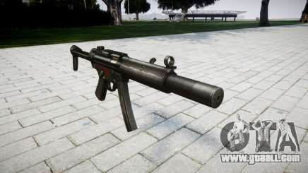 Gun MP5SD RO FS for GTA 4