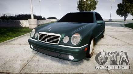 Mercedes-Benz W210 E55 2000 AMG for GTA 4