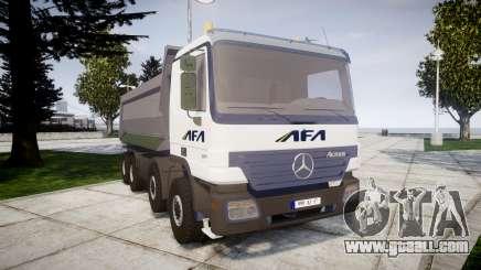 Mercedes-Benz Actros AFA for GTA 4