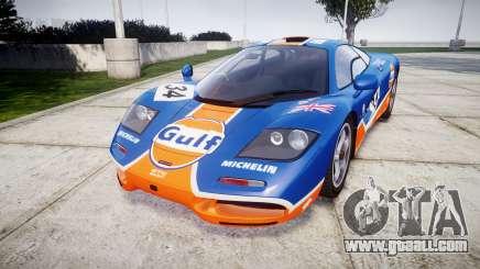 McLaren F1 1993 [EPM] Gulf 34 for GTA 4