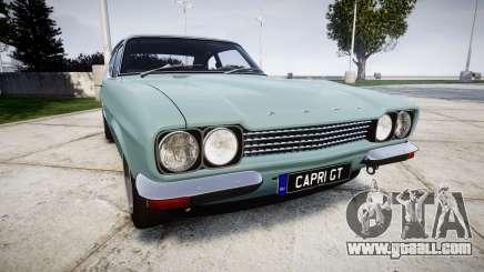 Ford Capri GT Mk1 for GTA 4