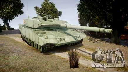 Leopard 2A7 ES Green for GTA 4